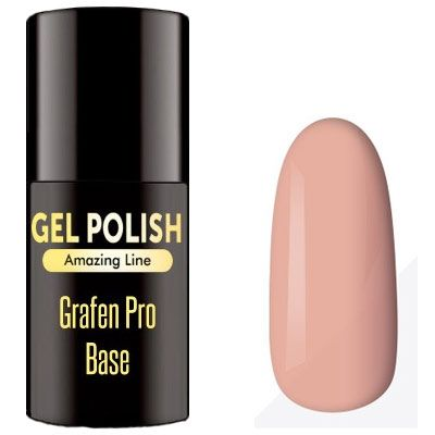 Graphen Base Natural Cover 5ml - Pro Extend Rubber Hard Base Natural Cover