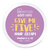 IDC Κρέμα χεριών Give me five 50ml Blueberry & fig