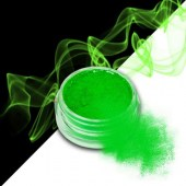 Smoke nails powder dust effect Neon Green 3g - Σκόνη εφέ νυχιών