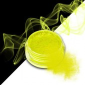 Smoke nails powder dust effect Neon Yellow 3g - Σκόνη εφέ νυχιών
