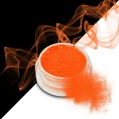 Smoke nails powder dust effect Neon Orange 3g - Σκόνη εφέ νυχιών