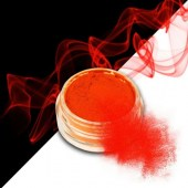 Smoke nails powder dust effect Neon Dark Orange 3g - Σκόνη εφέ νυχιών