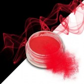 Smoke nails powder dust effect Neon Red Grapefruit 3g